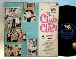 Vinilo Lp El Club Del Clan Vol.1 Red Caps Jolly Land Tedesco