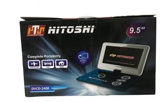 Reproductor Cd/dvd Portatil Hitoshi 9,5 Fm , C Remoto