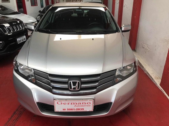 Honda City 1.5 Dx Flex 4p Prata 2011/2011