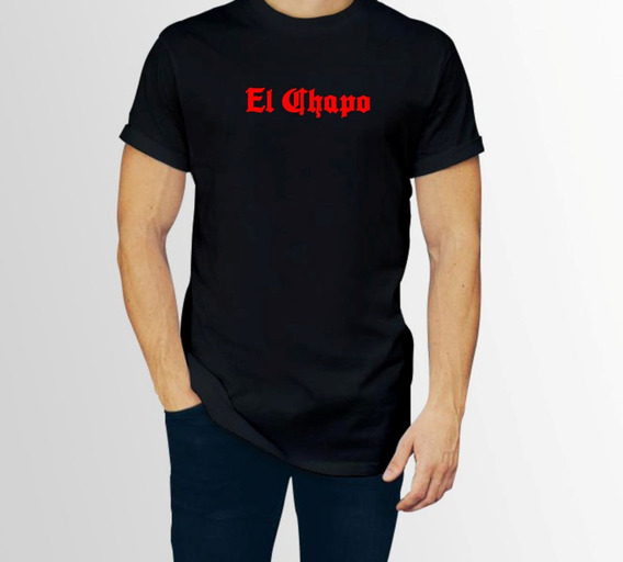 Playera El Chapo Cartel Sinaloa Hombre 1 Pza Con Envio