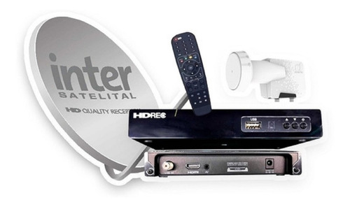 Kit Inter Satelital Deco Antena