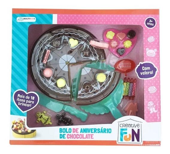 Creative Fun Bolo De Chocolate Indicado Para Mais De 3 Anos