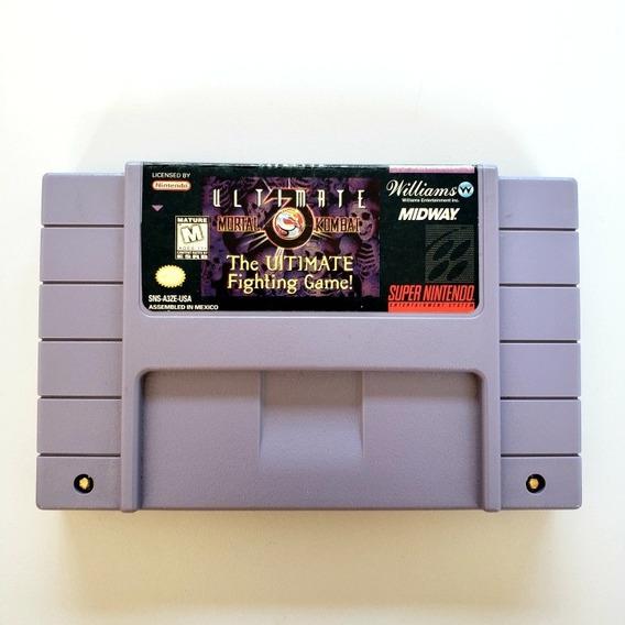Ultimate Mortal Kombat 3 Snes Original Super Nintendo