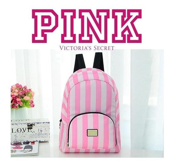 Mochila Neceser 2 En 1 Pink Victoria Secret 100% Original