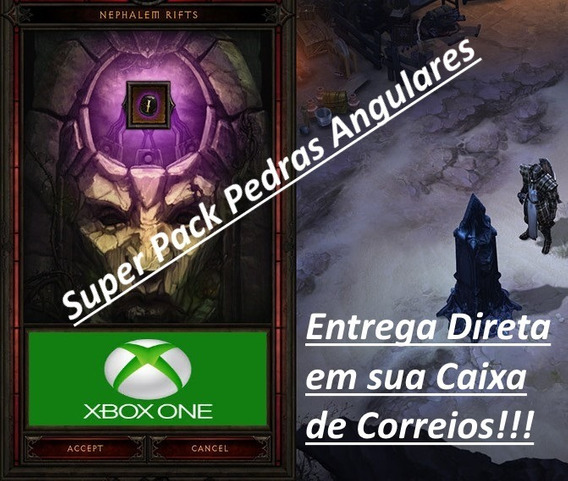 Itens Diablo 3 Xbox One - 1 Milhão Pedrasangulares + Brinde!