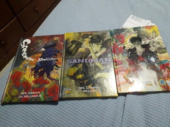 Sandman Prelúdio Volumes 1, 2 E 3