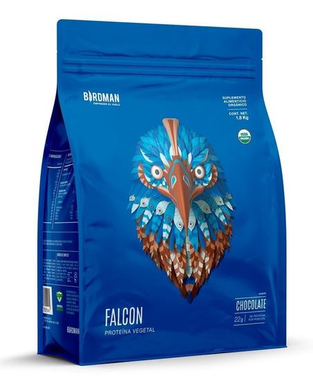 Proteína Vegetal Falcon 1.8kg Sabor Chocolate (60 Servicios)