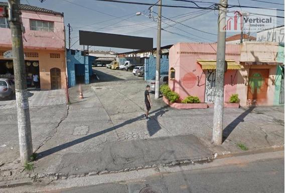 Terreno À Venda, 1000 M² Por R$ 2.400.000,00 - Jardim Aricanduva - São Paulo/sp - Te0378