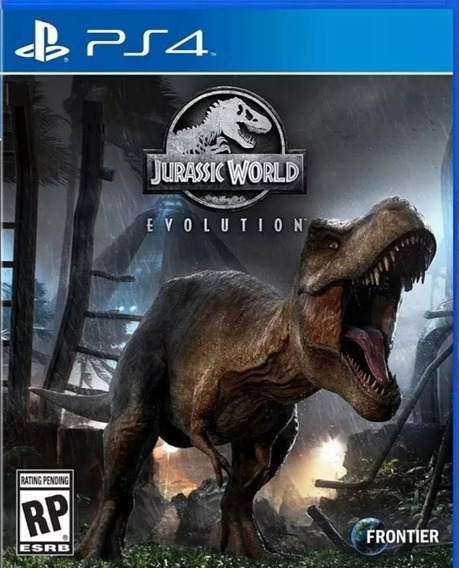 Jurassic World Evolution Ps4 Jogo Digital1- Original