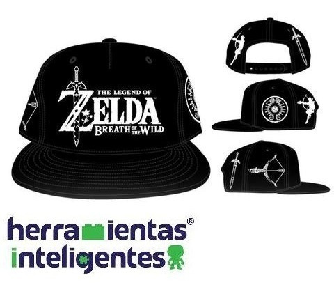 Gorra Botw Snapback The Legend Of Zelda Bioworld