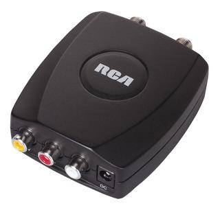 Modulador Para Audio Y Video Tipo Rca A Coaxial Marca Rca