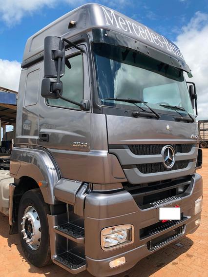 Vendo Ou Troco - M. Benz Axor 2644 - 2013 - 6x4 - Conservado