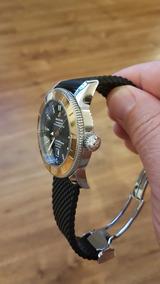Relógio Breitling Modelo Superocean, 12/2016,bezel Em Ouro