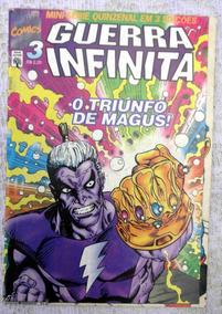 Guerra Infinita Nº 3: Thanos - Jim Starlin - Abril - 1996