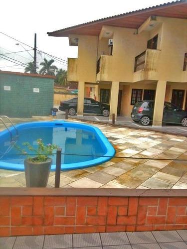 Imagem 1 de 16 de Sobrado Em Condomínio Com Piscina 2 Dormitórios Sendo 1 Suíte À Venda, 62 M² Por R$ 235.000 - Vila Guilhermina - Praia Grande/sp - So0273