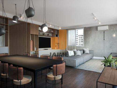 Apartamento  Reformado Com 3 Dormitórios, 1 Suíte, 2 Vagas Com 207m2 No Jardim América! - Bi4496