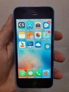 iPhone 5c De 32gb Liberado De Icloud + Forro Y Cargador (65)
