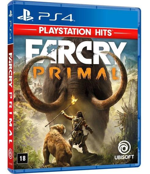 Far Cry Primal Ps4 - Jogo Mídia Física Novo Em Português