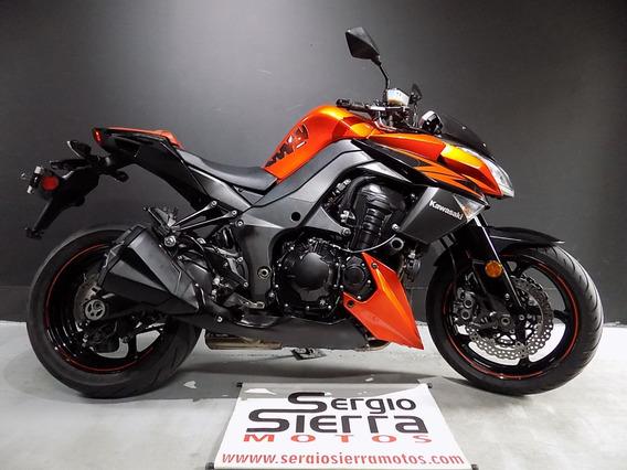 Kawasaki Z1000 Naranja 2012