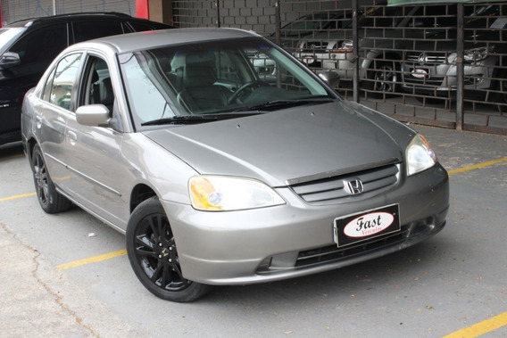 Honda Civic Lx 1.7 Automático 2002