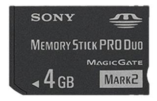 Sony 4 Gb Memory Stick Produo Msmt4g /tq1 (negro)