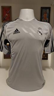 Camisa Futebol Real Madrid Treino Cinza