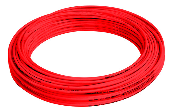 136923 Cable Eléctrico Tipo Thw-ls/thhw-ls Cal14 100mt Rojo