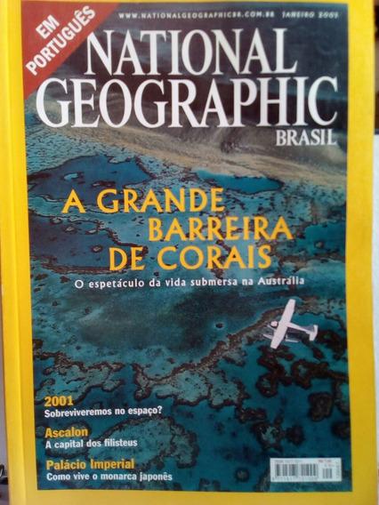 Revista National Geografic Janeiro 2001