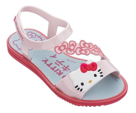 Sandalia Hello Kitty Pop Grendene Linda Confortavel Infantil