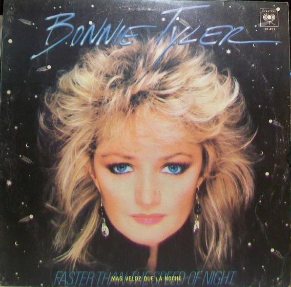Bonnie Tyler - Mas Veloz Que La Noche Disco Vinilo Lp 1983
