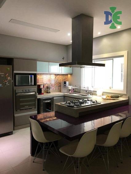 Casa Em Condomínio Com 4 Dormitórios À Venda, 236 M² Por R$ 1.050.000 - Jardim América - Jacareí/sp - Ca0008