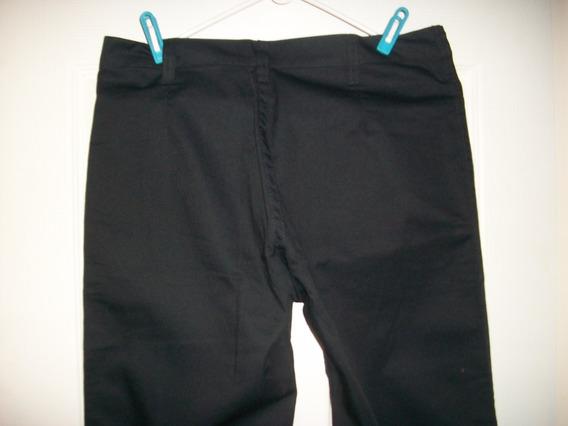 Pantalon Casual Negro Dama Talla 12