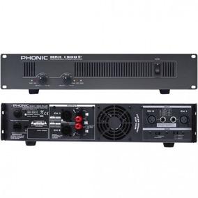 Amplificador De Potencia Max 1500 Plus, 900 Watts, Phonic