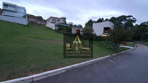 Excelente Terreno Á Venda No Condomínio  Villa Solaia - Alphaville - Confira ! - Te0499