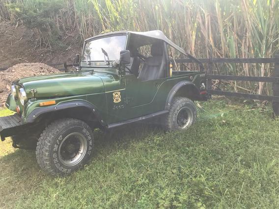 Jeep Willys 4x4 Carpado