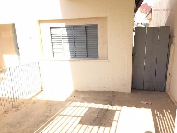 Casa Com 2 Dormitórios Para Alugar, 100 M² Por R$ 650,00/mês - Vila Santa Catarina - Americana/sp - Ca0291