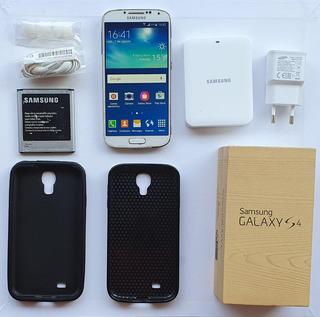 Celular Samsung S4 I9505 +cargador Externo+auriculares Nuevo