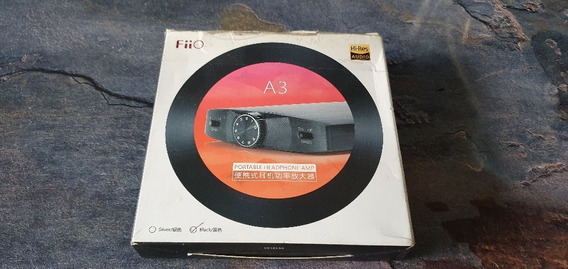 Amplificador De Audífonos Portátil Fiio A3 Hi-res Audio