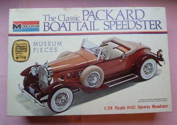 Packard Boattail Speedster 1930 Maquete 1/24 Model Rarissimo
