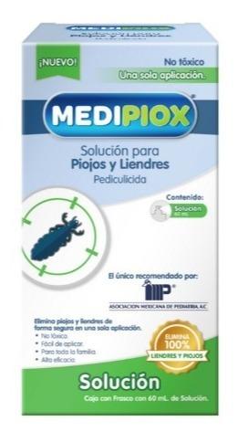 Medipiox Shampoo Cabello Antipiojos Y Liendres +efectivo