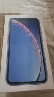 iPhone Xr 64gb Azul Na Caixa Estado De Novo