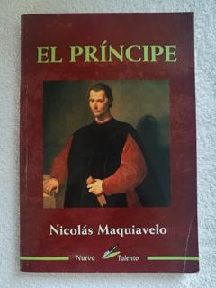 El Príncipe - Nicolás Maquiavelo (cubierta Color Terracota)