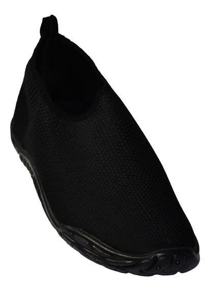 Zapatos Para Alberca - Aquashoes - Sublimado, Color Negro