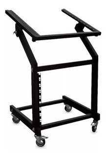 Mesa Rack Audio Profesional Para Dj Metalica Full