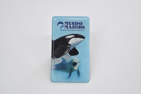 Imán Orca Y Delfín Domes Mundo Marino