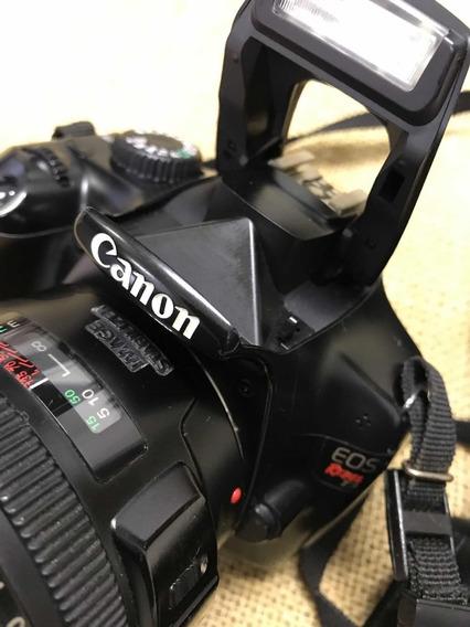 Câmera Canon T3 Lente 28-135 Com Estabilizador (funcionando)