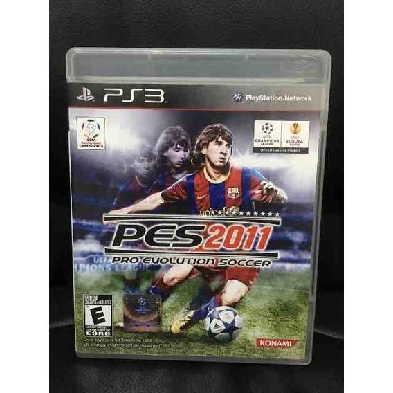 Pro Evolution Soccer Pes 2011 Jogo Ps3 Usado Mídia Física
