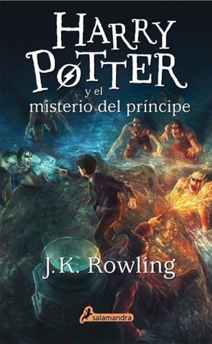 Harry Potter 6 - El Misterio Del Principe - Rowling - Libro