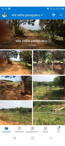 Sitio Chácara Terreno Perto Do Vale Das Pedras Em Paraguaçu