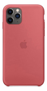Funda iPhone 11 Pro Max Silicona Soft Felpa Case Original